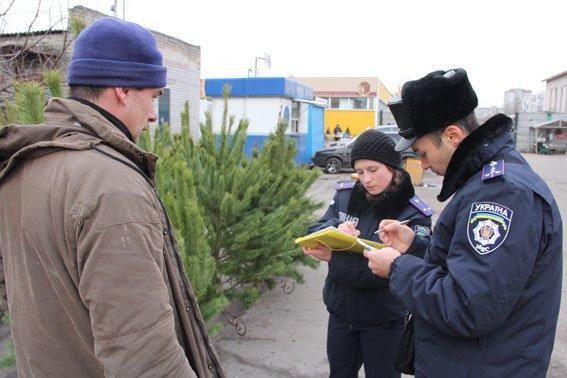 Перед Новым годом полиция в Чернигове ищет незаконные елки и петарды (фото) - фото 1