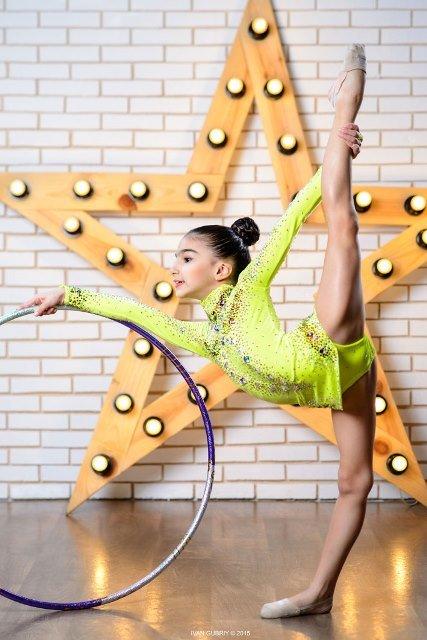 Семилетняя гимнастка из Павлограда завоевала серебро Международного турнира, фото-2