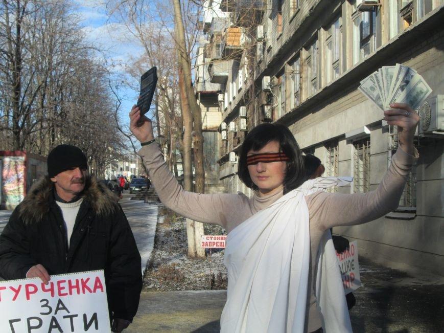 Активисты под Жовтневым судом Мариуполя требовали уволить судью, отпустившего сепаратиста (ФОТО+ВИДЕО), фото-7
