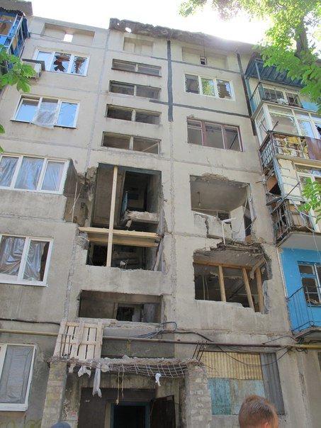 Авдеевский КХЗ восстановил две наиболее повреждённые многоэтажки (фото) - фото 3