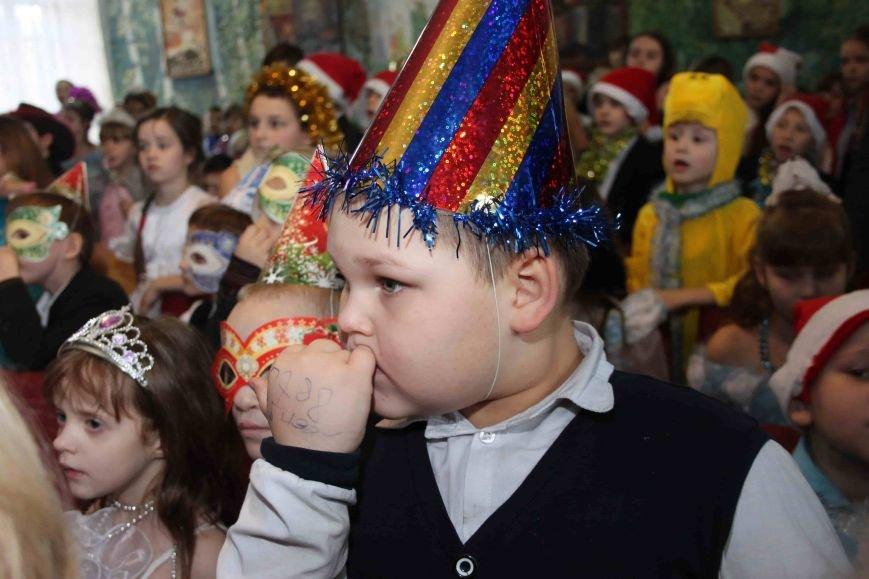 Криворожские полицейские поздравили с новогодними праздниками воспитанников школы-интерната (ФОТО), фото-5