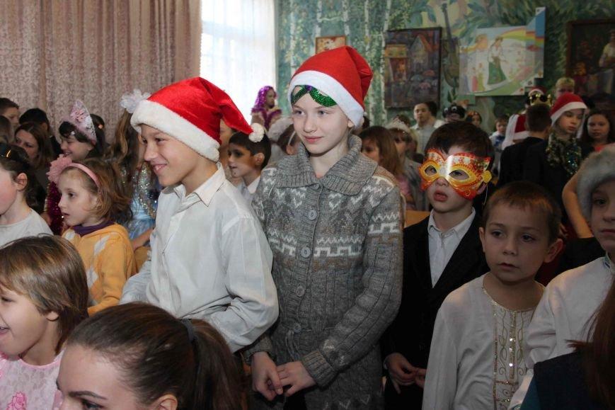 Криворожские полицейские поздравили с новогодними праздниками воспитанников школы-интерната (ФОТО), фото-6