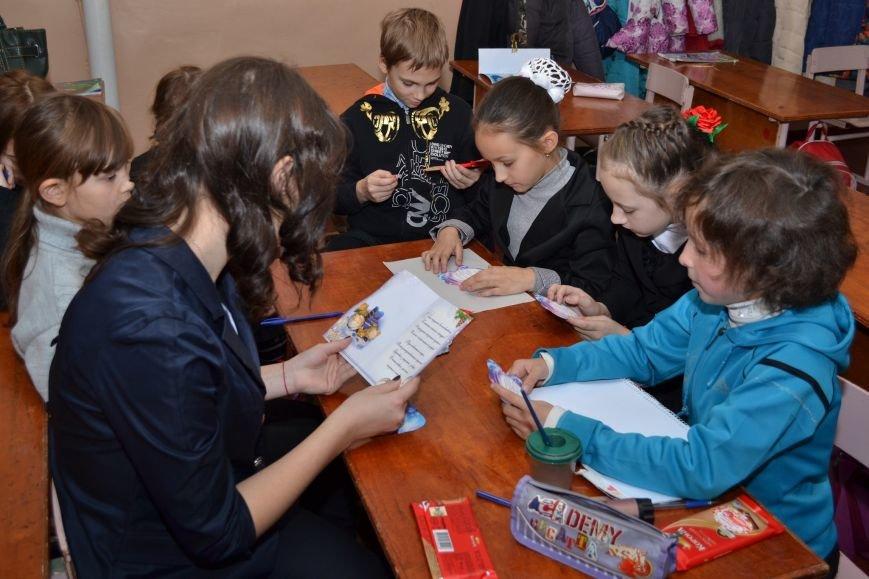 «Творить добро - это легко»: николаевские школьники поздравили подопечных из дома ребенка (ФОТО), фото-1