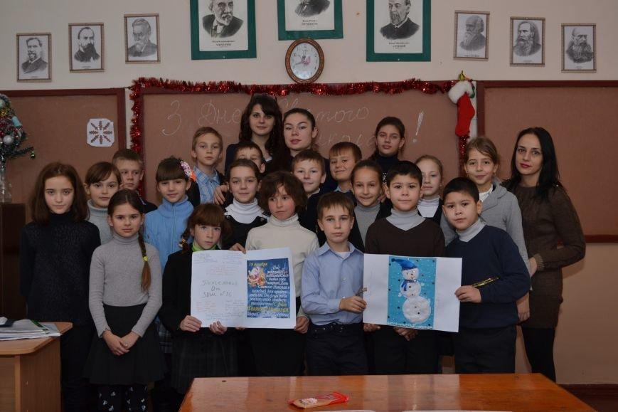 «Творить добро - это легко»: николаевские школьники поздравили подопечных из дома ребенка (ФОТО), фото-5