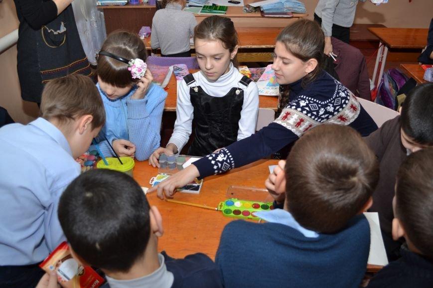 «Творить добро - это легко»: николаевские школьники поздравили подопечных из дома ребенка (ФОТО), фото-2