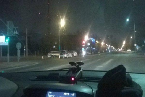 Фотофакт: в Гродно на перекрестке возле Радиоволны столкнулись две иномарки (фото) - фото 1