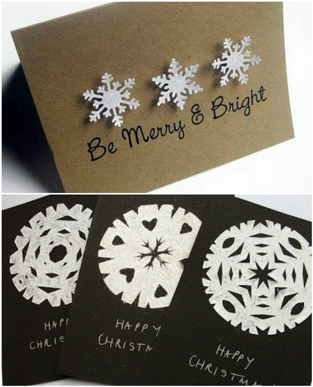 Ідеї новорічних листівок, які можна зробити швидко та з підручних матеріалів (Фото) (фото) - фото 7