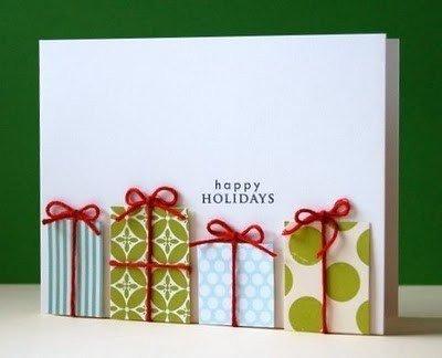 Ідеї новорічних листівок, які можна зробити швидко та з підручних матеріалів (Фото) (фото) - фото 1