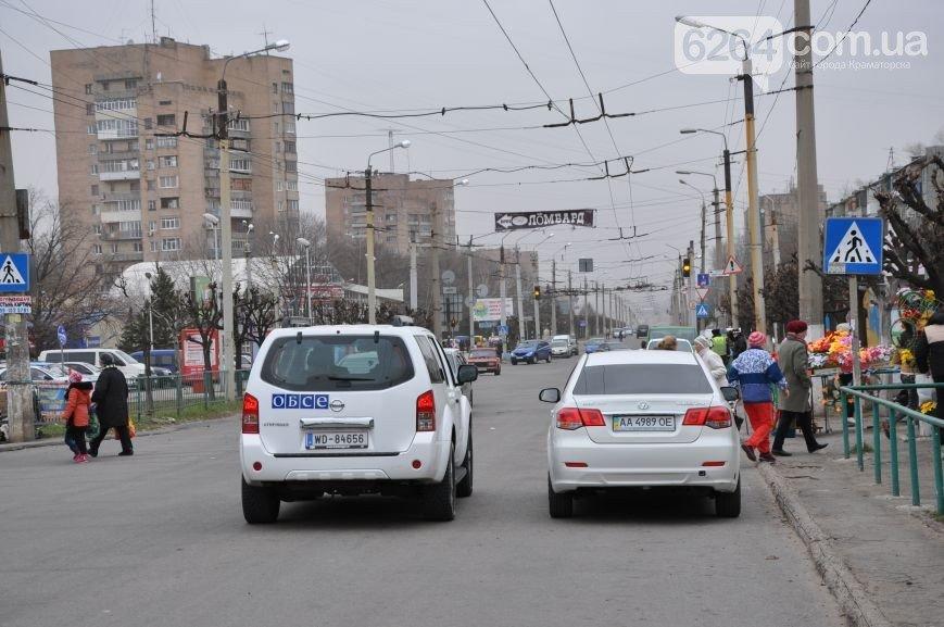 В Краматорске в ДТП попали сотрудники ОБСЕ и Интерпола (фото) - фото 4