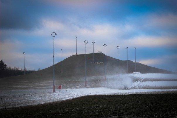 В Гродно первый сезон горнолыжного комплекса
