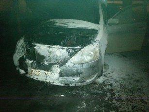 У Львові невідомі підпалили іномарку (фото) - фото 1