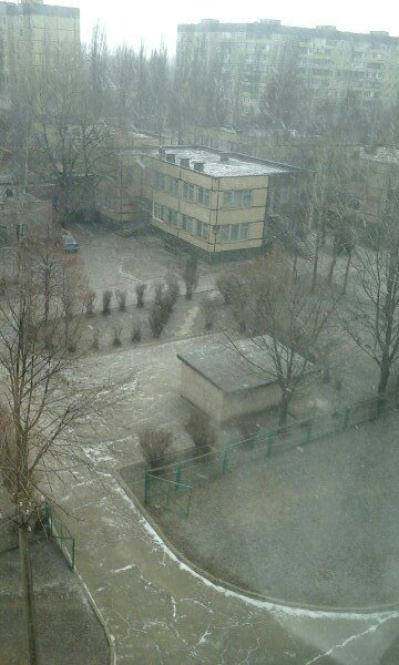 Кривой Рог накрыло снежной бурей (ФОТО) (фото) - фото 1