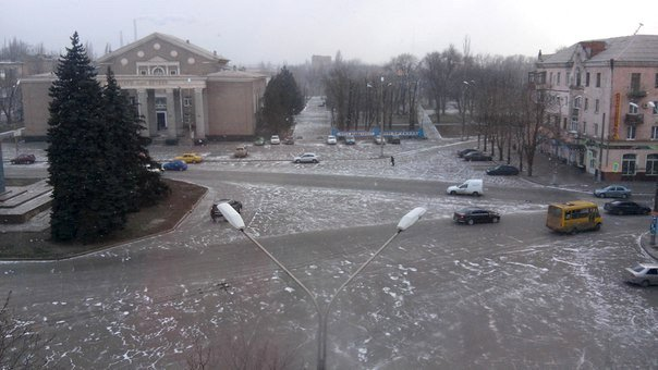 Кривой Рог накрыло снежной бурей (ФОТО) (фото) - фото 3