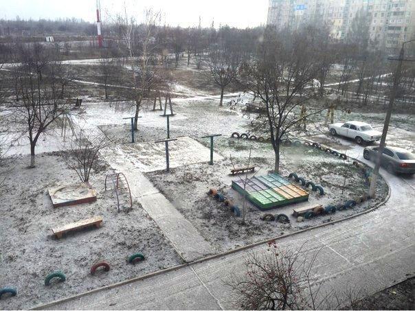 Кривой Рог накрыло снежной бурей (ФОТО), фото-10