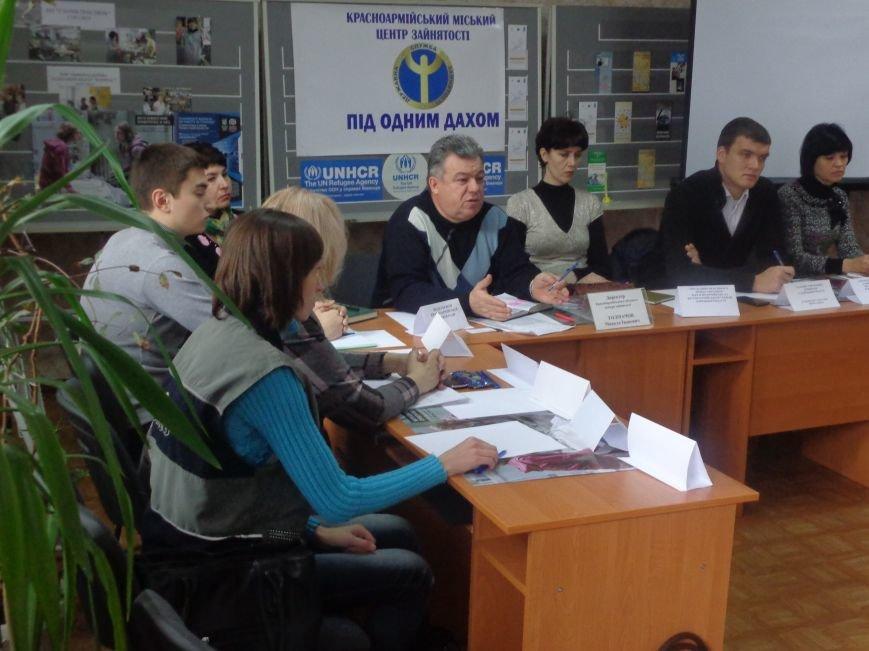 Сегодня Красноармейский центр занятости впервые посетили представители ОБСЕ (фото) - фото 5