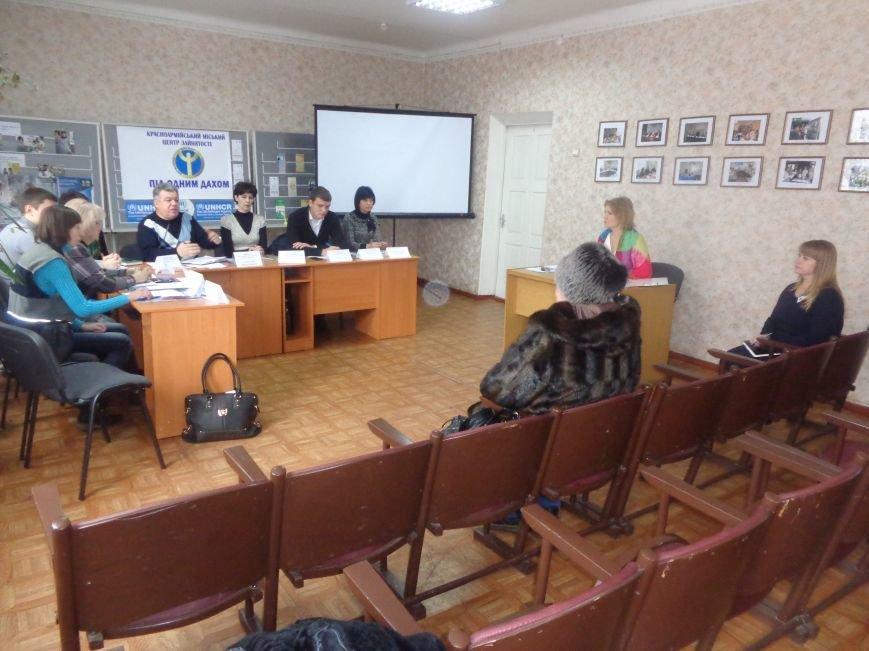 Сегодня Красноармейский центр занятости впервые посетили представители ОБСЕ (фото) - фото 3