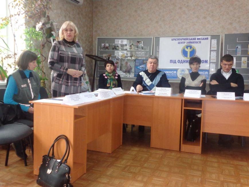 Сегодня Красноармейский центр занятости впервые посетили представители ОБСЕ (фото) - фото 8