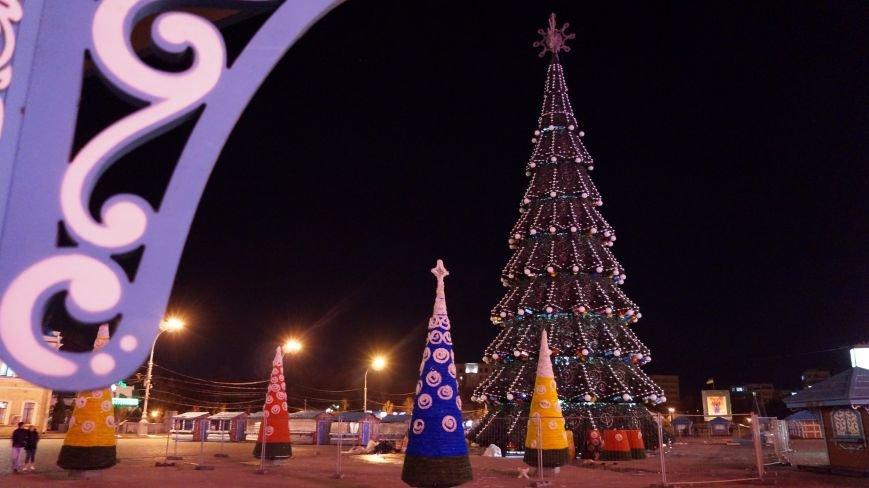 елка-планета, Харьков