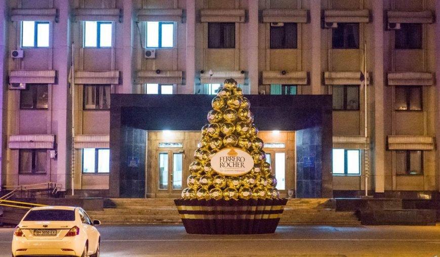 шоколадная елка, Одесса