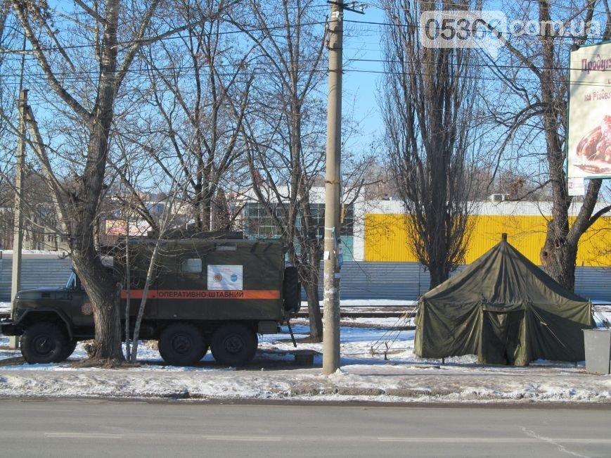 В Кременчуге начали работать пункты обогрева (адреса теплопунктов) (фото) - фото 1