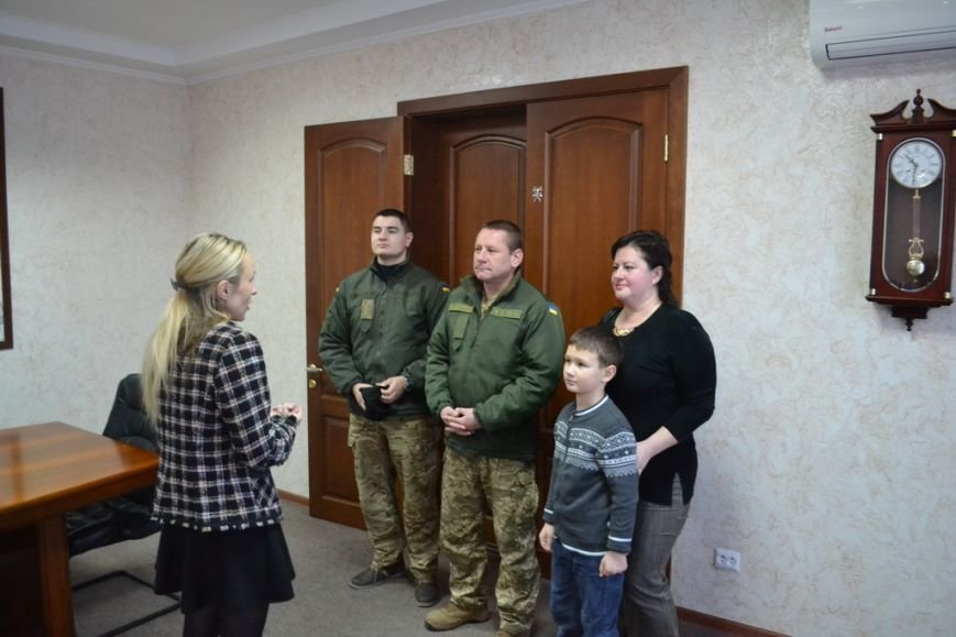В Николаеве семьи авиаторов получили новогодние подарки (ФОТО), фото-2