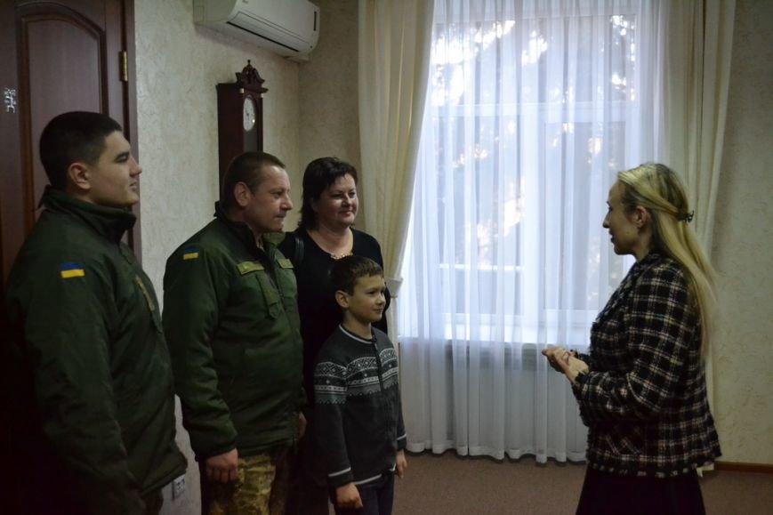 В Николаеве семьи авиаторов получили новогодние подарки (ФОТО), фото-1