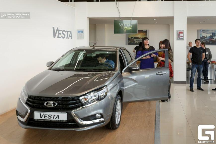 Презентация новой LADA Vesta в городе Пятигорске произвела настоящий фурор! (фото) - фото 12
