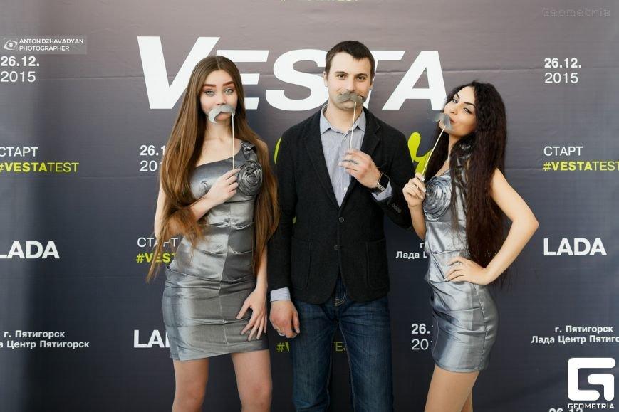 Презентация новой LADA Vesta в городе Пятигорске произвела настоящий фурор! (фото) - фото 5