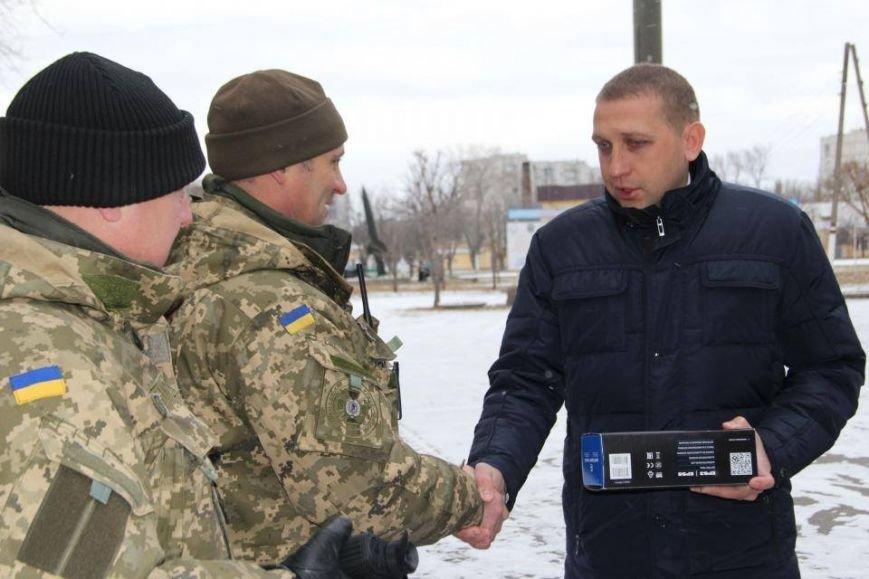 Кременчугские военные получили подарки к Новому году от городской власти (ФОТО), фото-4