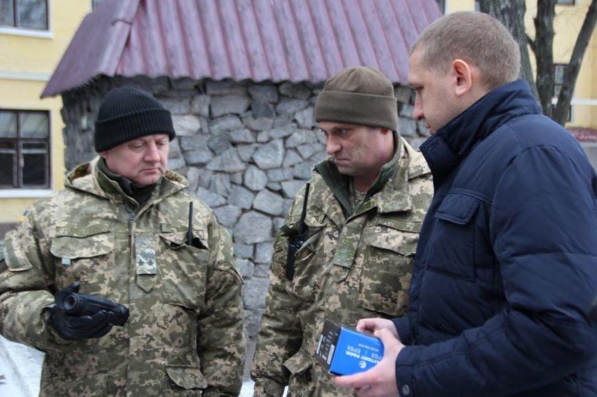 Кременчугские военные получили подарки к Новому году от городской власти (ФОТО), фото-3