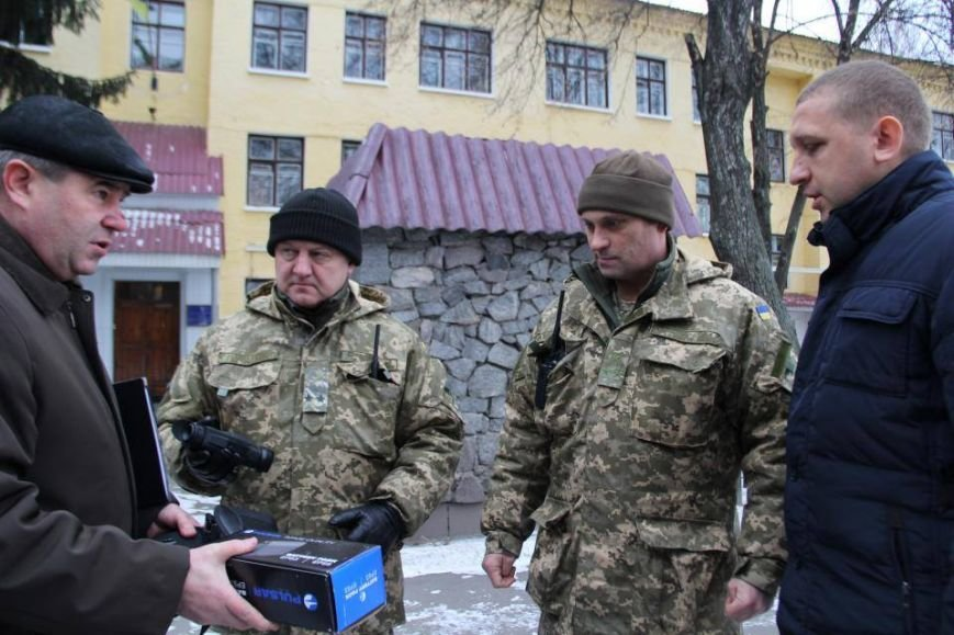 Кременчугские военные получили подарки к Новому году от городской власти (ФОТО), фото-1