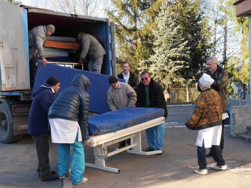 Тернопільська обласна лікарня завдяки «МРІЇ» отримала гуманітарний вантаж медичного обладнання (ФОТО) (фото) - фото 1