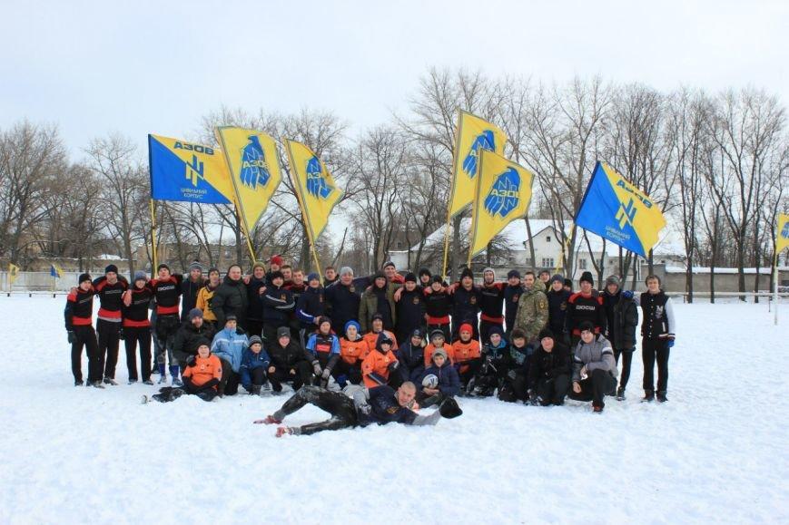 В Красноармейске юноши сыграли в регби на снегу (фото) - фото 2