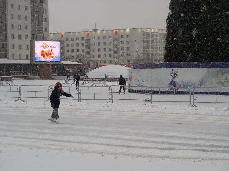 В Витебске выпал снег (фото) - фото 3