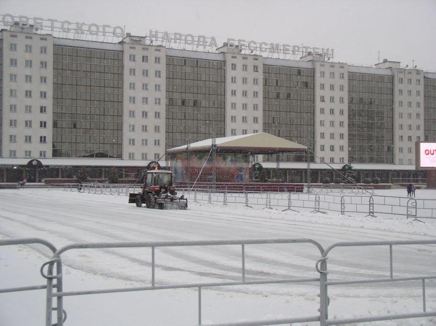 В Витебске выпал снег (фото) - фото 2