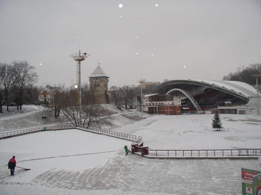 В Витебске выпал снег (фото) - фото 4