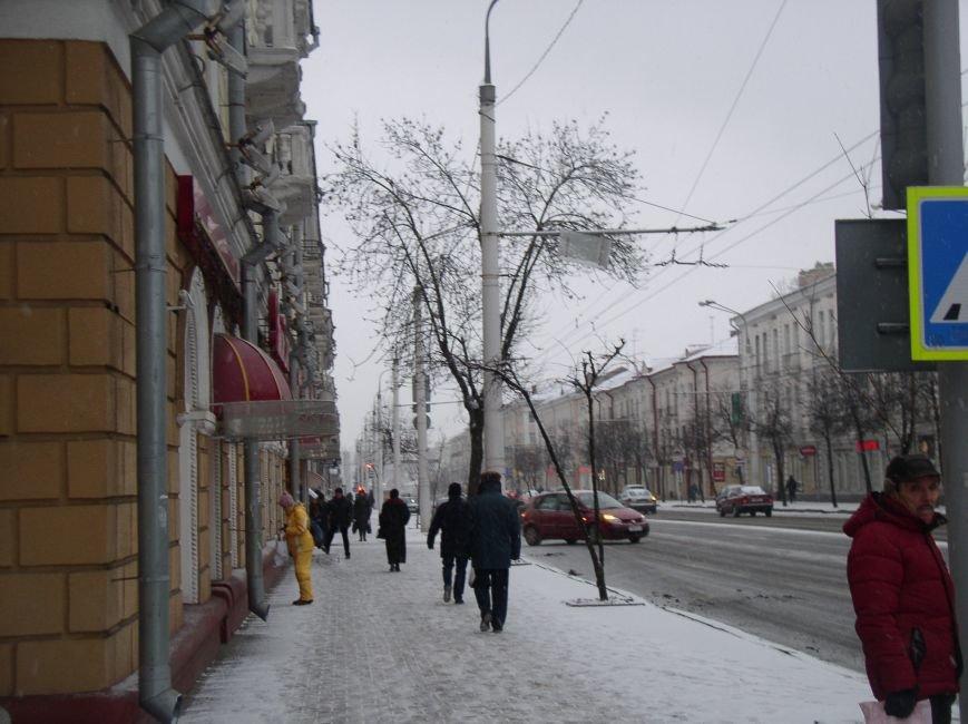 В Витебске выпал снег (фото) - фото 1