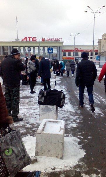В Днепропетровске снова заминировали вокзал (ФОТО), фото-1
