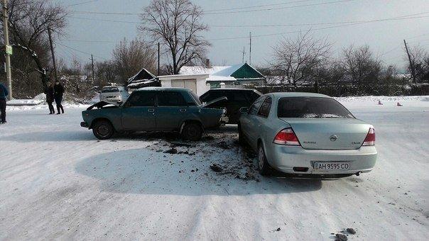 Разыскиваются свидетели вчерашнего ДТП в Макеевке (фото) (фото) - фото 1