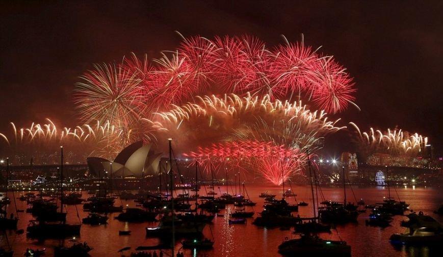 Где уже наступил Новый Год? (ФОТО, ВИДЕО), фото-2