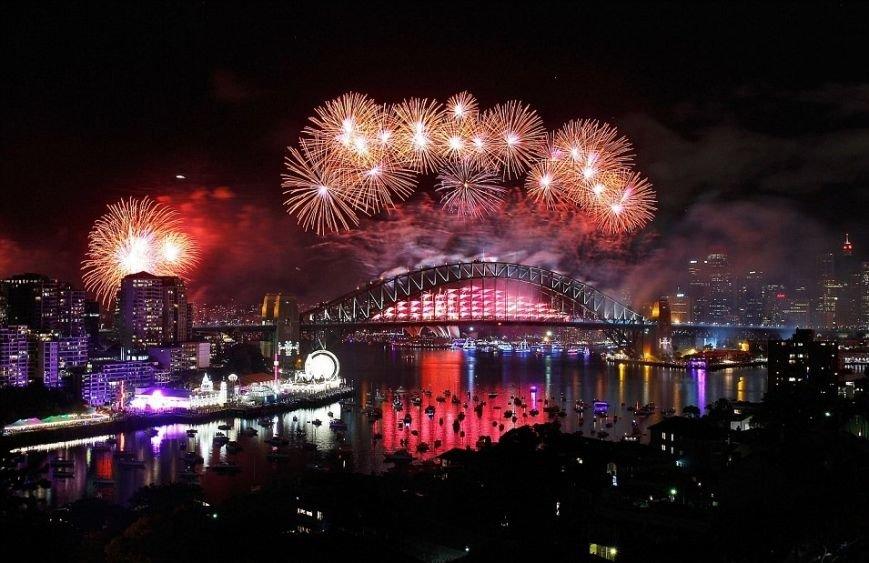 Где уже наступил Новый Год? (ФОТО, ВИДЕО), фото-3