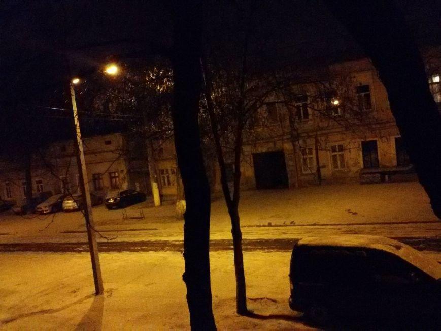 В первый день года в Одессе выпал снег (ФОТО) (фото) - фото 1
