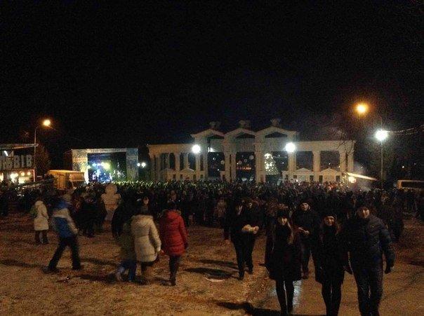Львів'яни відзначили Новий Рік у Парку культури. Як це було (ФОТОРЕПОРТАЖ) (фото) - фото 2