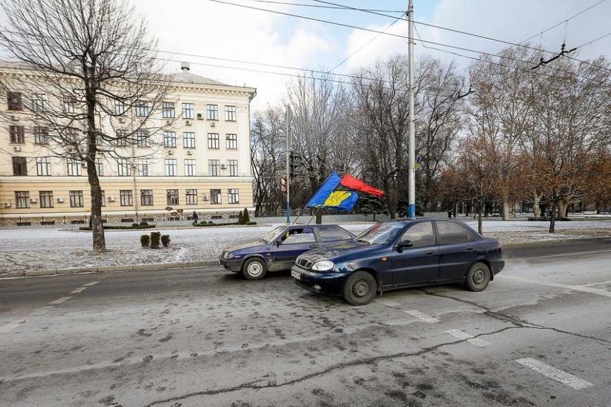 В Запорожье День рождения Бандеры отметили автопробегом (фото) - фото 1