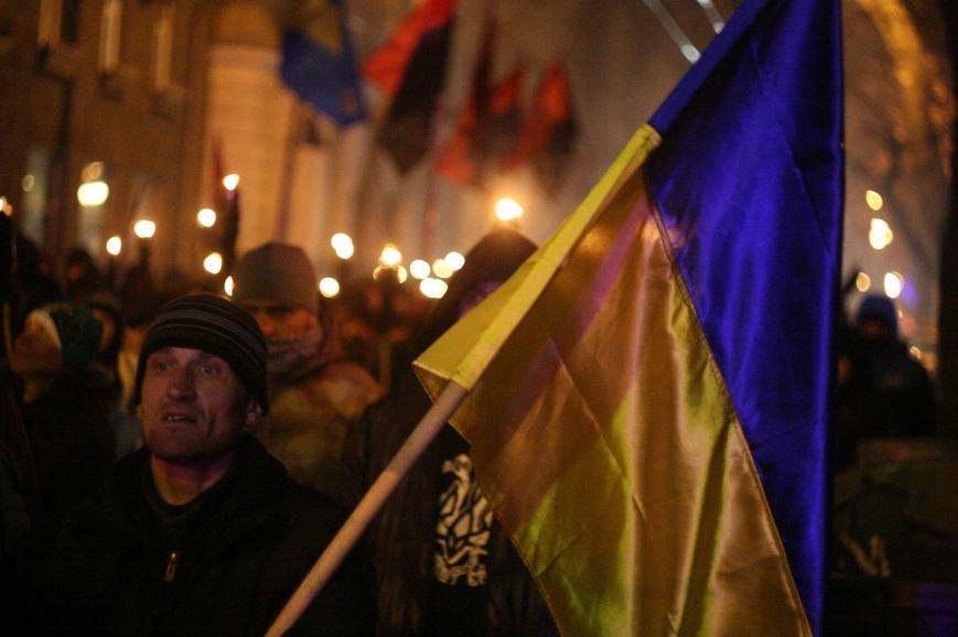 В Одессе националисты впервые провели факельное шествие в честь Бандеры (ФОТО), фото-15
