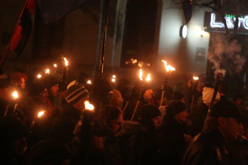 В Одессе националисты впервые провели факельное шествие в честь Бандеры (ФОТО), фото-18