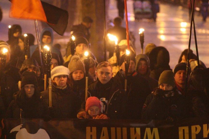 В Одессе националисты впервые провели факельное шествие в честь Бандеры (ФОТО), фото-22