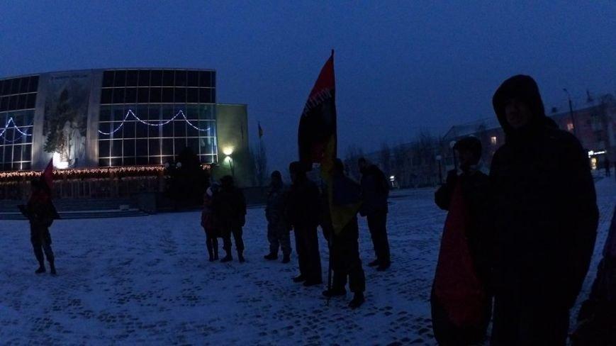 В Бердянске представители правого сектора отмечали день рождения Бандеры (фото) - фото 1