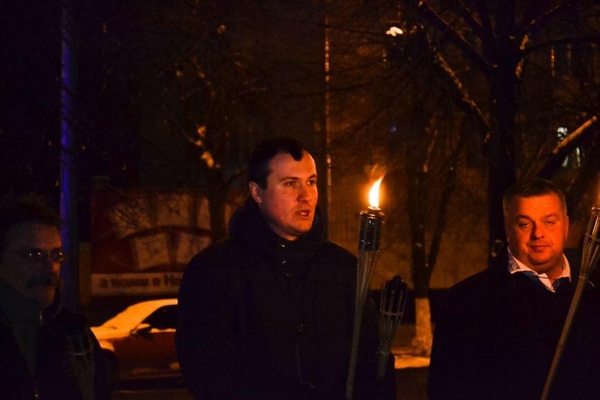 Кременчужане прошли факельным шествием в честь дня рождения Степана Бандеры (ФОТО) (фото) - фото 4