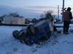 В Крыму поезд на железнодорожном переезде сбил автомобиль (ФОТО) (фото) - фото 3
